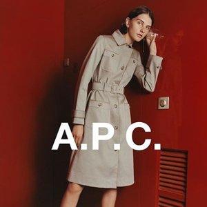 法式文艺清新潮牌A.P.C男女装