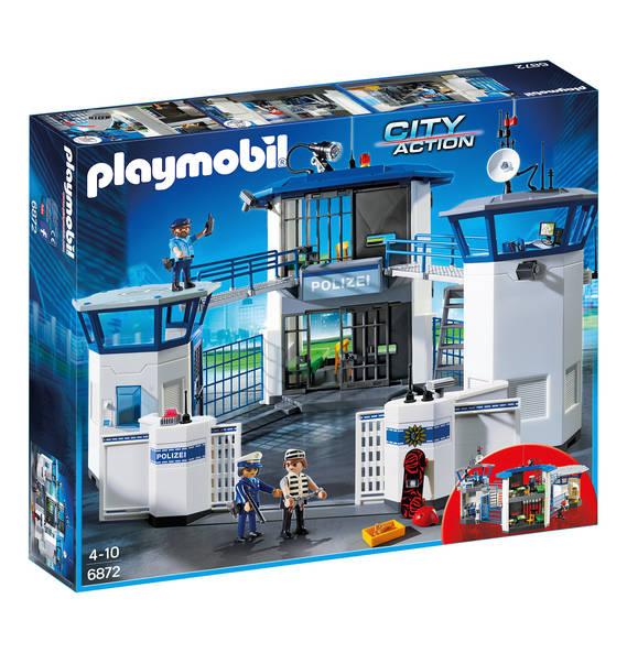 德国 Playmobil 城市系列 带监狱的警察总部