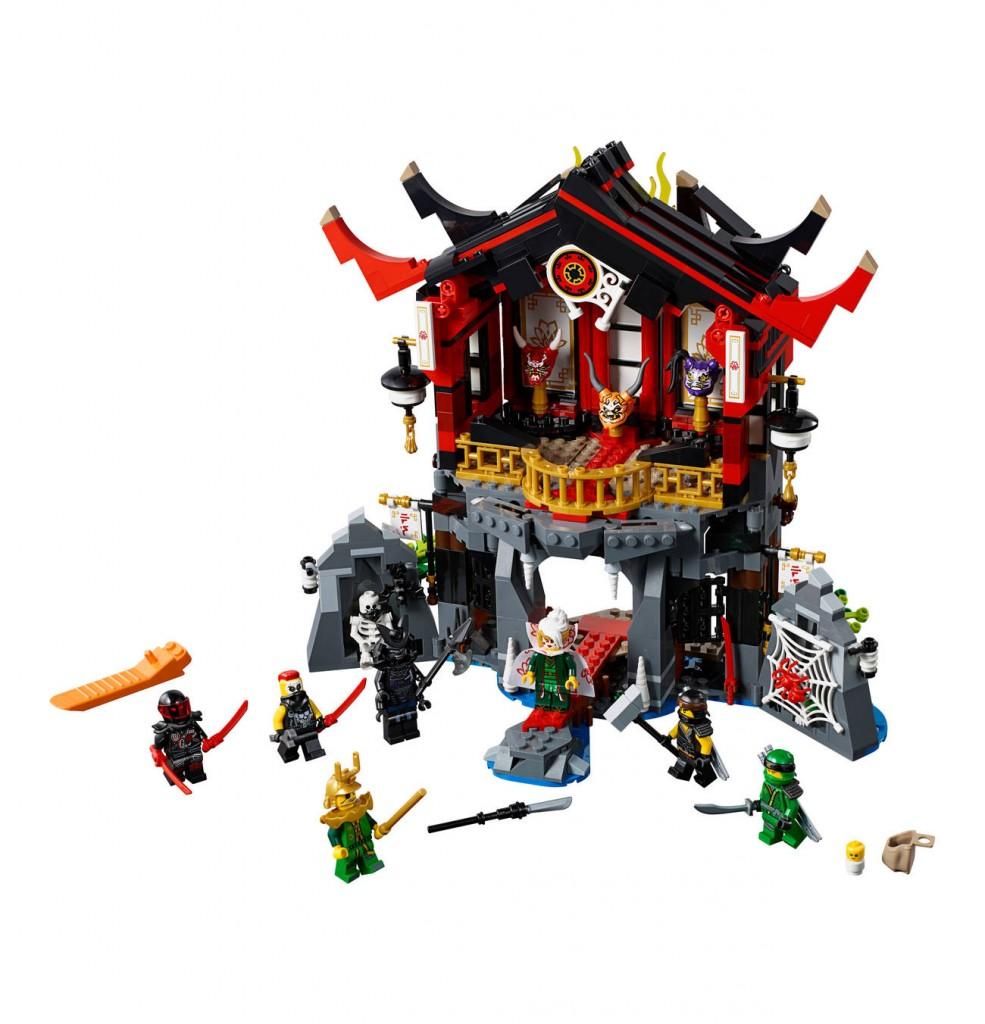 Lego 乐高 幻影忍者Ninjago系列 魔王的复活神殿 70643