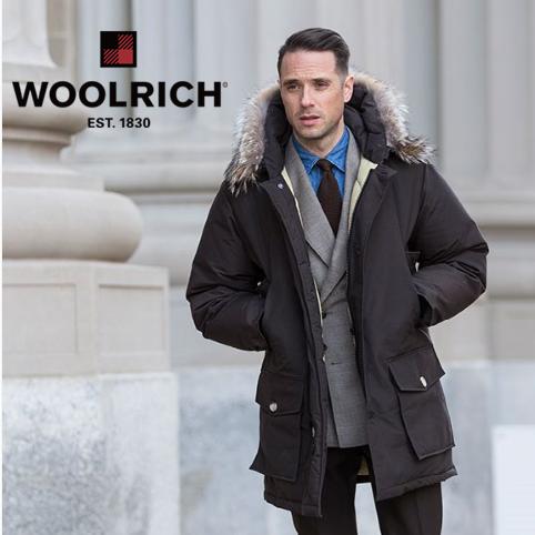 手慢无!Woolrich Arctic Anorak男士派克羽绒服