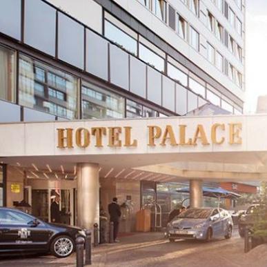 我爱你 柏林!Hotel Palace Berlin豪华酒店