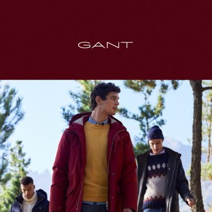 精致生活典范!美国服装品牌GANT全线特卖!