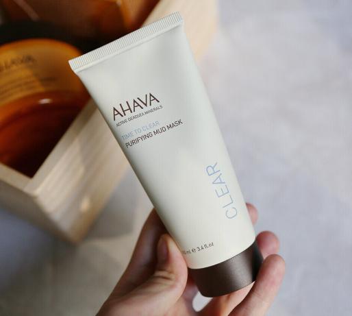 以色列国宝级护肤品牌 AHAVA 死海泥清洁面膜