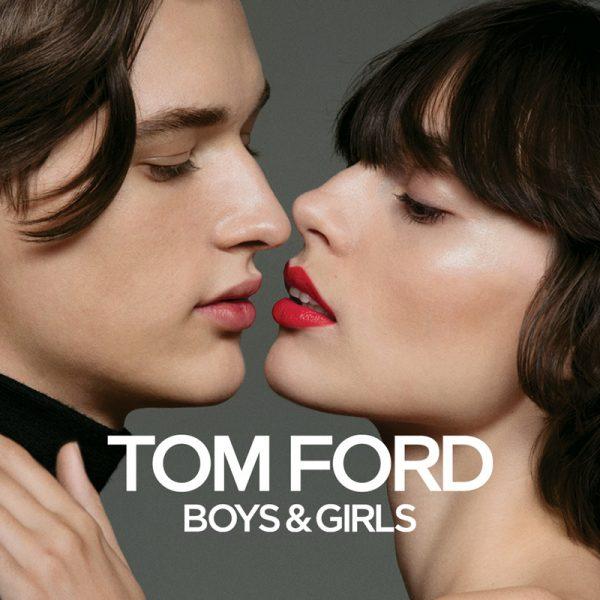 Tom Ford Boys & Girls 黑金/白金小唇膏