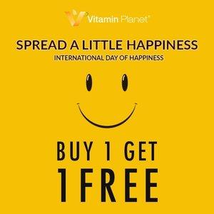 国际幸福日!VitaminPlanet官网大促