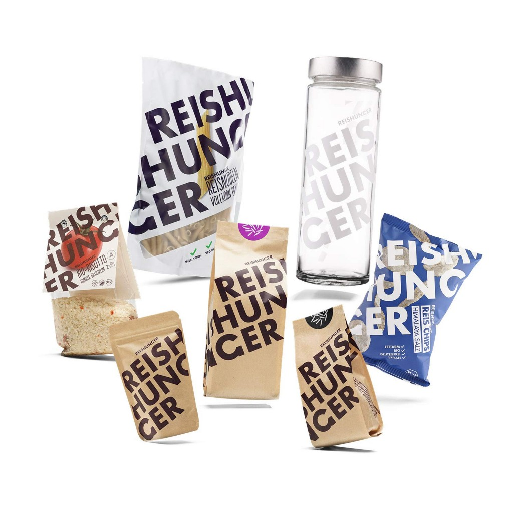 德国一个专注高品质大米饮食的品牌 Reishunger 7种产品试用装礼盒