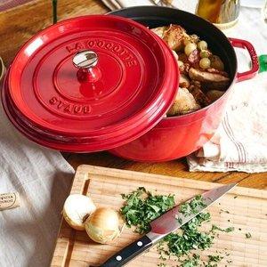 【直邮中国】法国国宝Staub铸铁锅,芝士焗饭、砂锅煲统统没在怕的!
