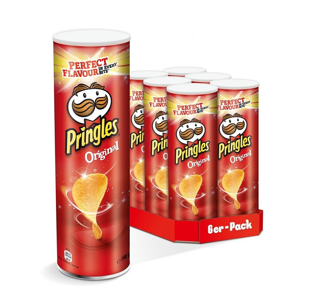 Pringles 品客薯片 Original 经典原味(6罐装)