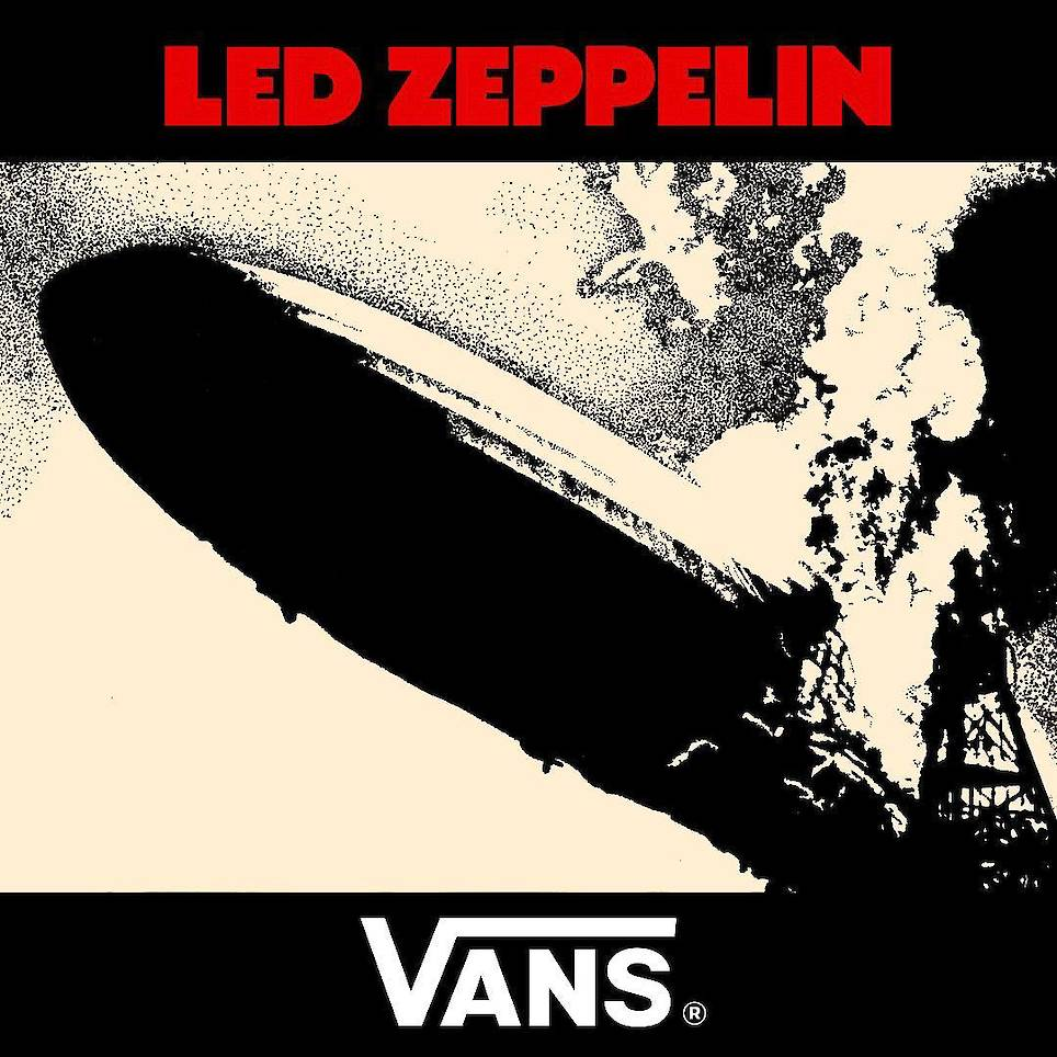 Vans X Led Zeppelin 限量版系列今日上新发售!