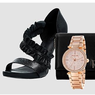 Jet Set风尚 轻奢品牌Micheal Kors包包鞋履+手表