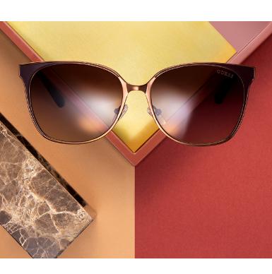 浪漫性感时尚都是你 Guess男女式太阳墨镜