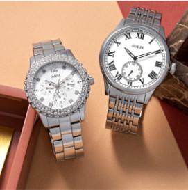 性感、浪漫、时尚的代名词 Guess男女精致腕表