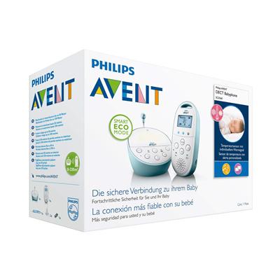Philips 飞利浦 Avent 新安怡 SCD560/00 婴儿监护器 带温度传感 摇篮曲