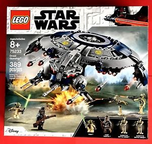LEGO Star Wars™乐高星战系列 75233 2019新版Droid Gunship