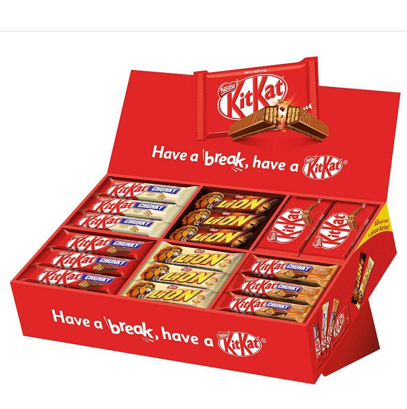 Nestlé 雀巢Party Box Kitkat Lion派对盒 2.8kg