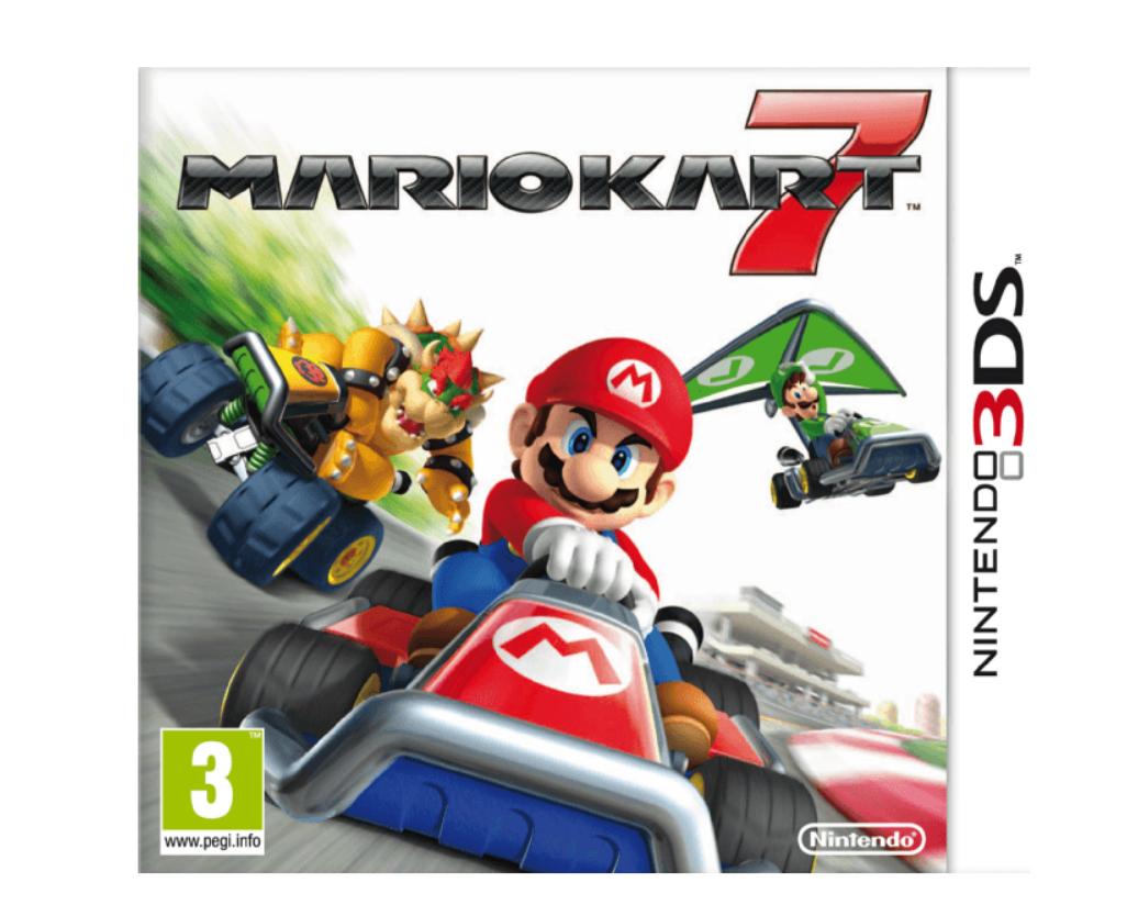 任天堂掌机2DS +马里奥Kart 7