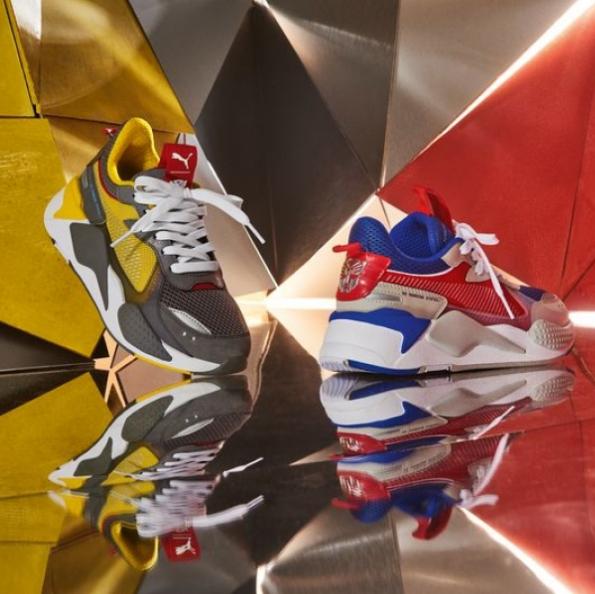 大黄蜂与擎天柱联手搭档 Hasbro X PUMA RS-X Transformers系列
