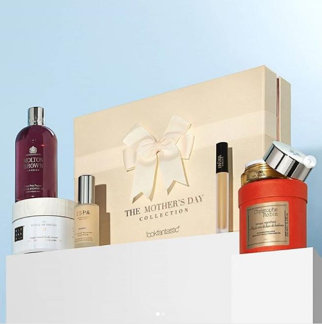 总价值258欧的 Lookfantastic 母亲节礼盒(全部6件单品均是正装)
