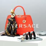 感受轻柔奢华 Versace范思哲丝巾、包包等配饰