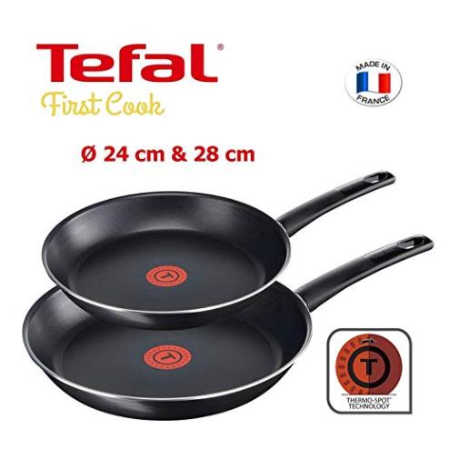 法国著名厨具特福Tefal First Cook 平底煎锅