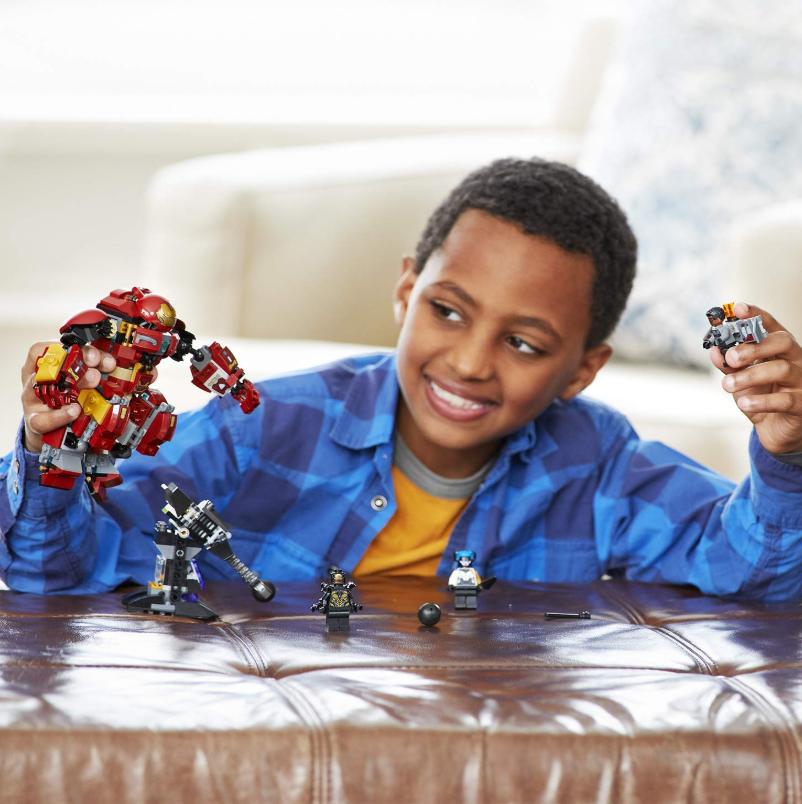 Lego乐高 Marvel Super Heroes 反浩克装甲 76104