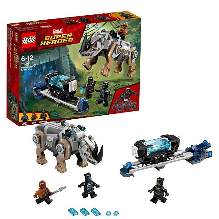 Lego乐高 Marvel Super Heroes 矿场犀牛大对决 76099