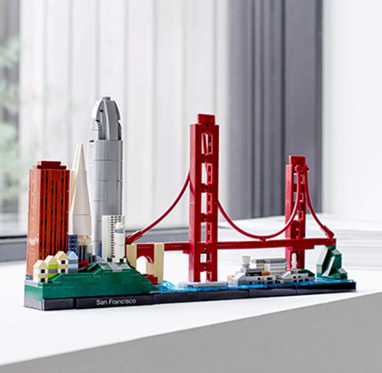 LEGO乐高Architecture 建筑系列 21043旧金山天际线