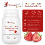 德国FurstenMED儿童复合维生素咀嚼片 草莓味 60g