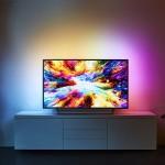 Philips 超薄4K 三声道立体声 50英寸超高清电视