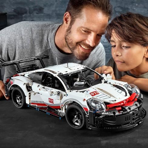 赛道王者的强悍外观精美再现!! LEGO 42096 科技系列 保时捷 911 RSR
