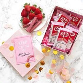 Nestlé® KITKAT®雀巢奇巧 Ruby纯天然粉色红宝石巧克力威化