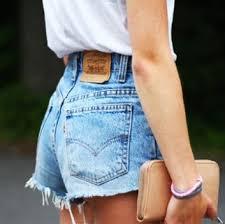 Levi´s 李维斯501 女款高腰牛仔短裤