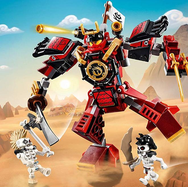 LEGO 幻影忍者系列 70665 武士机甲