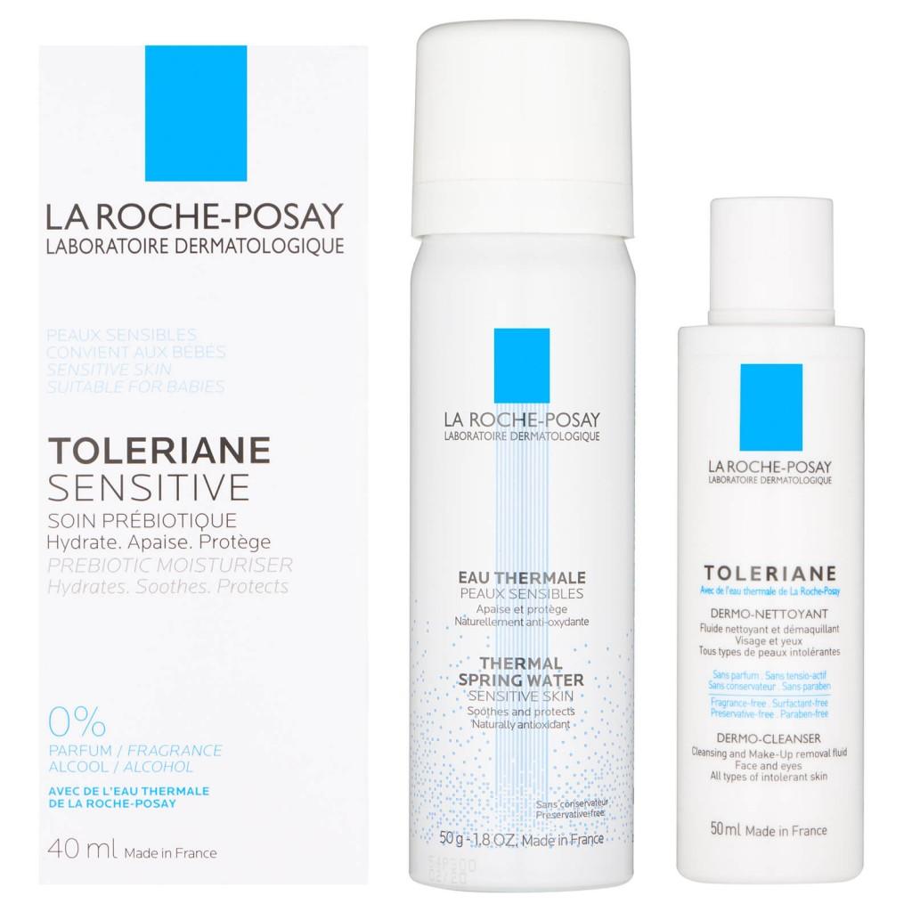 LA ROCHE-POSAY  敏感肌专用 Toleriane 3-Step System 特安系列三部曲护肤套装
