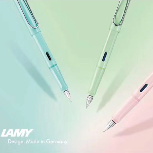 每年一色的LAMY,2019年一下出仨,而且都是少女色!LAMY SAFARI系列限量色