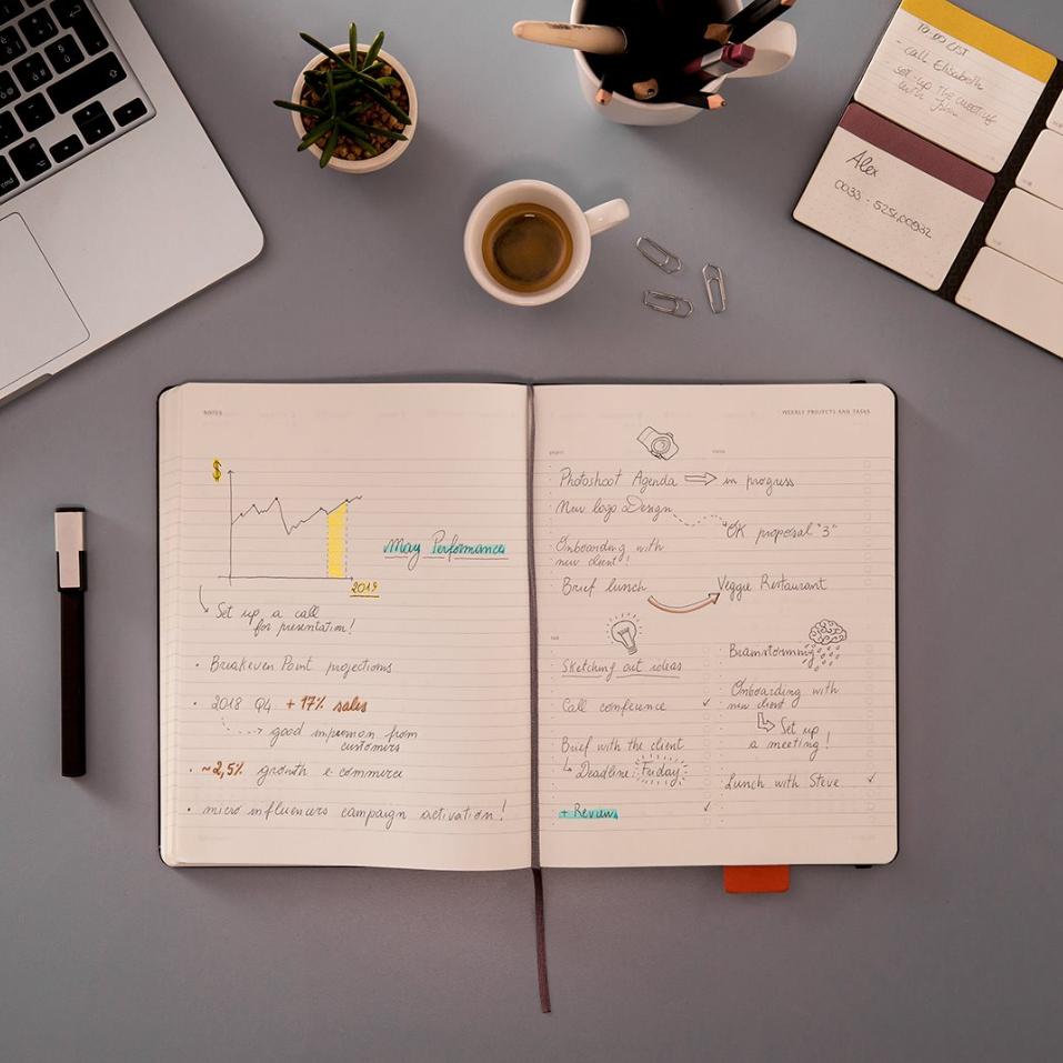 意大利手工笔记本品牌 Moleskine笔记本、背包