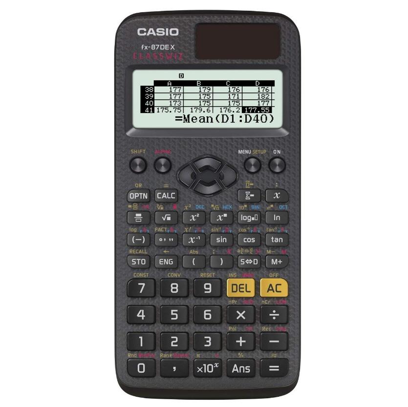Casio ClassWiz FX-87DE 卡西欧科学计算器