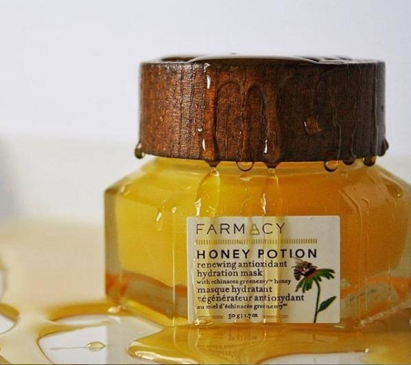 FARMACY纯天然护肤品蜂蜜补水自发热面膜,敏感肌换季必备品~