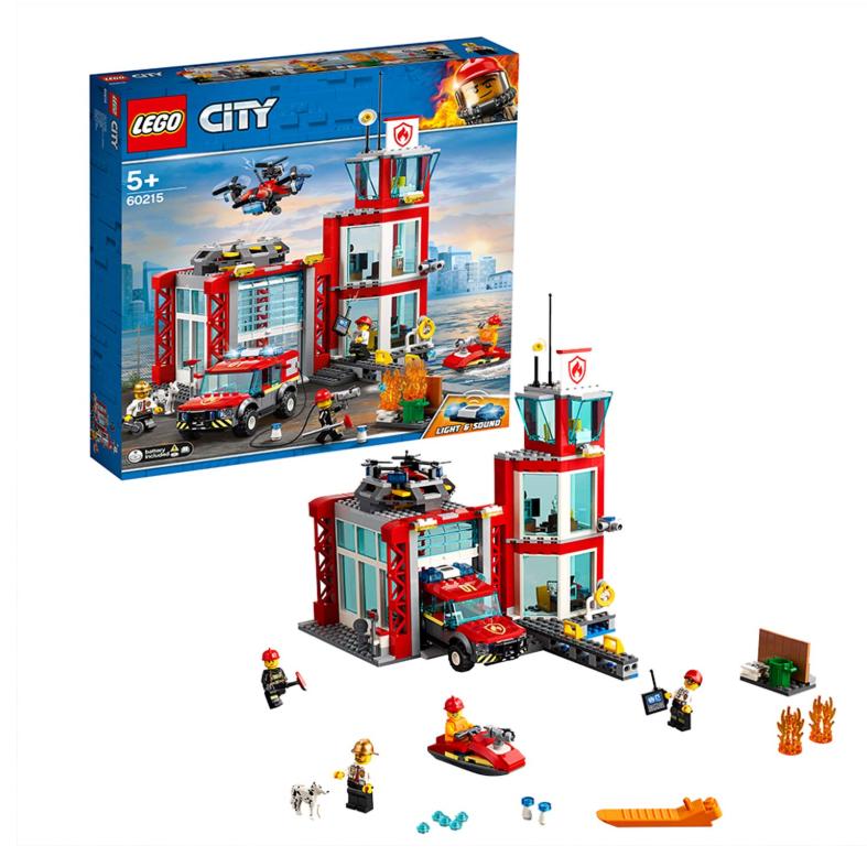 LEGO City 60215 城市消防局