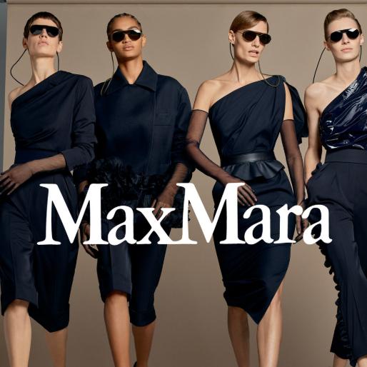 超模最爱的凹造型利器 MAXMARA 太阳镜