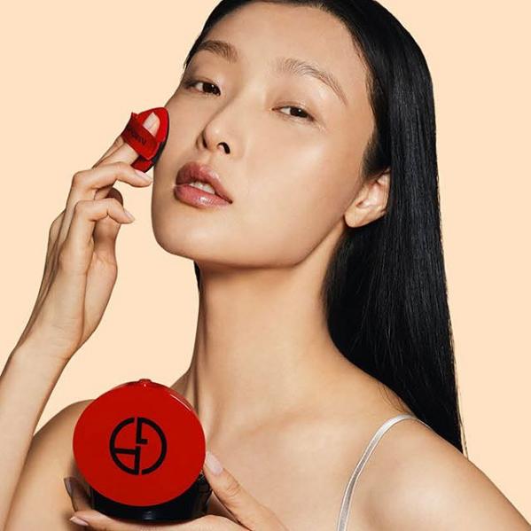 armani阿玛尼红气垫 高颜值的中国红!