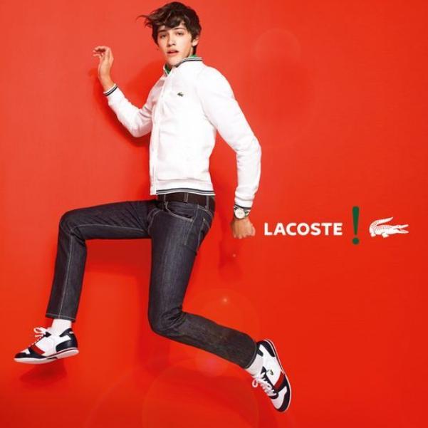 舒适又经典 LACOSTE法国正宗小鳄鱼鞋履大促