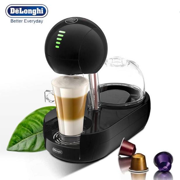 科技感十足!DE'LONGHI 德龙EDG 635.B 全自动胶囊咖啡机