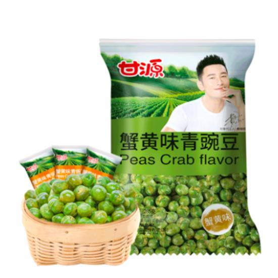 甘源牌蟹黄味青豌豆75g