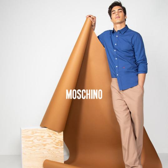 颠覆传统时尚 Moschino 男式衬衣特卖