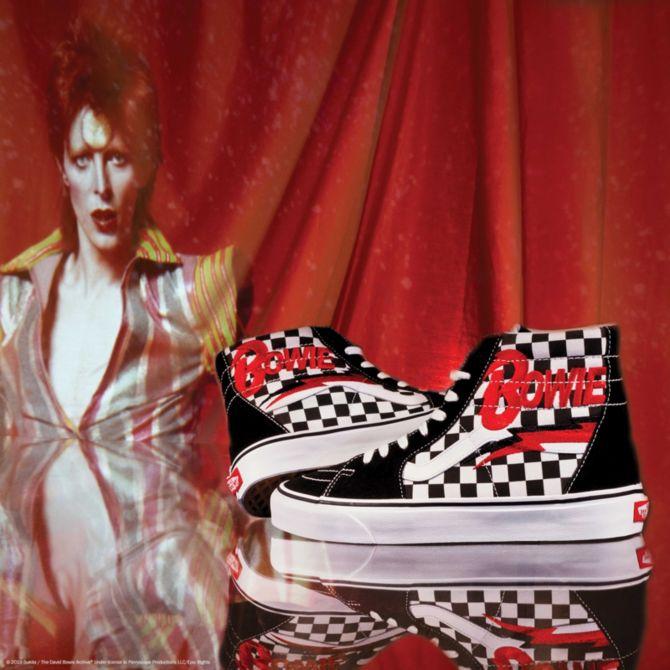 华晨宇同款,补货啦!David Bowie x Vans 联名系列开售