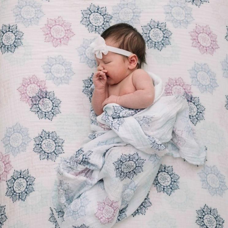 【直邮中国】母亲节的爱~多款母婴用品强势来袭!乔治小王子的御用裹巾,你的宝宝也能享受的待遇~