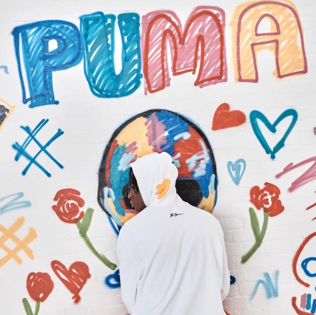 解放创意,呼唤新一季活力–PUMA X Bradley Theodore