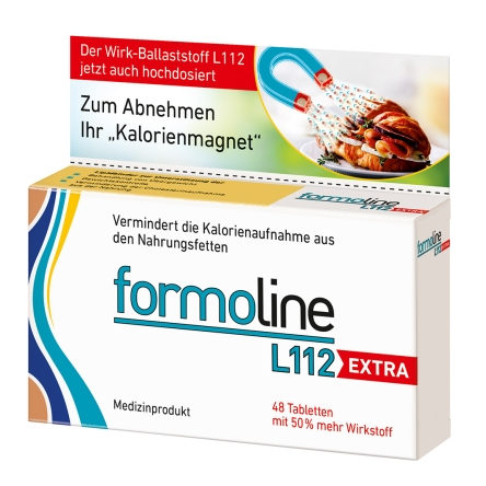 安全无负担,瘦出小蛮腰 ~formoline L112 Extra 植物膳食纤维控脂片加强版