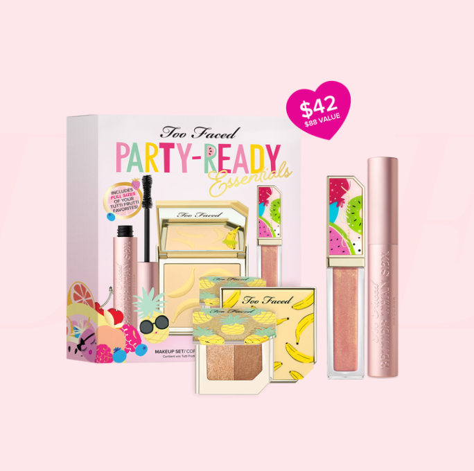 Too Faced Party Ready 热带水果彩妆组
